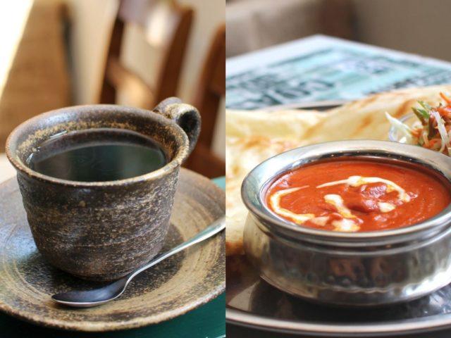 自家焙煎コーヒーと本格インドカレーを奥梶で「シモト珈琲&インディアンレストラン」