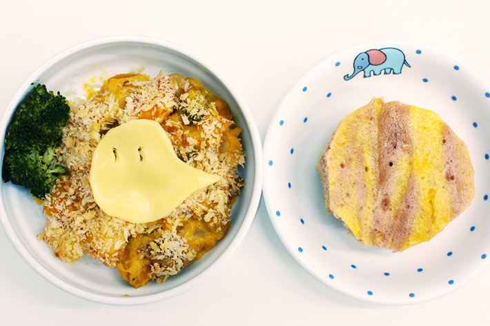 ハロウィンにぴったり!かぼちゃを使った離乳食レシピ!!