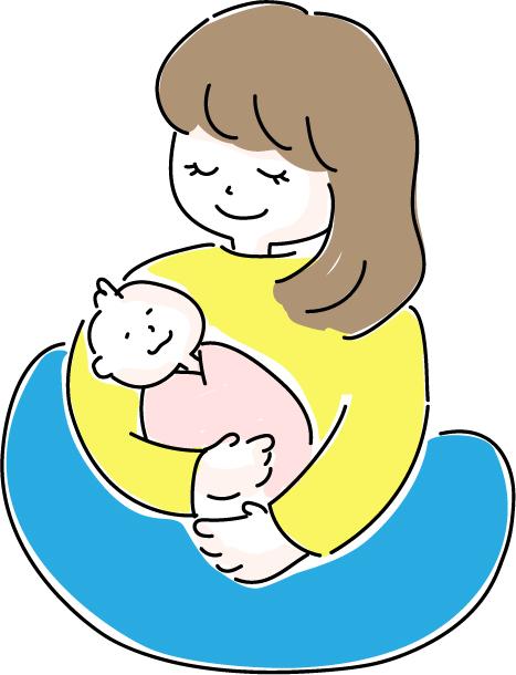 赤ちゃんを迎える準備_お母さんと赤ちゃん