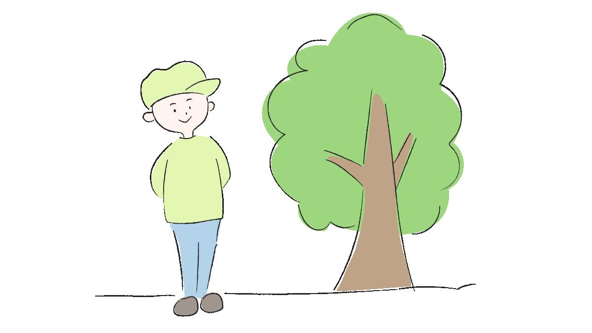 記念樹を植えよう メインビジュアル