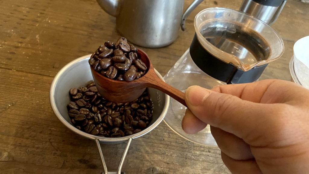 珈琲の淹れ方_コーヒー豆