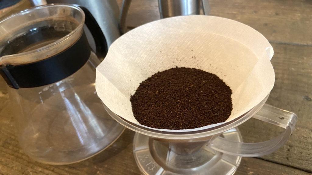 珈琲の淹れ方_コーヒー粉