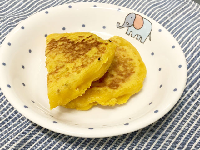 【後期離乳食レシピ】かぼちゃのおやき
