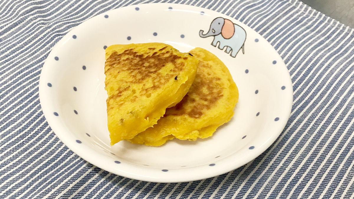 後期離乳食レシピ_かぼちゃのおやき
