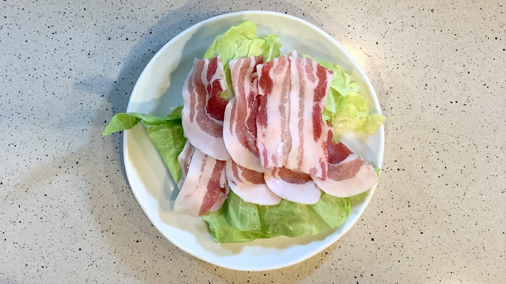 春キャベツと豚肉の重ね蒸し09