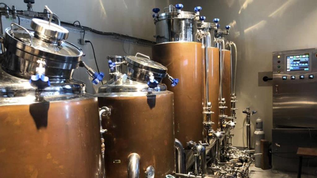 ふたこビール醸造所_醸造タンク