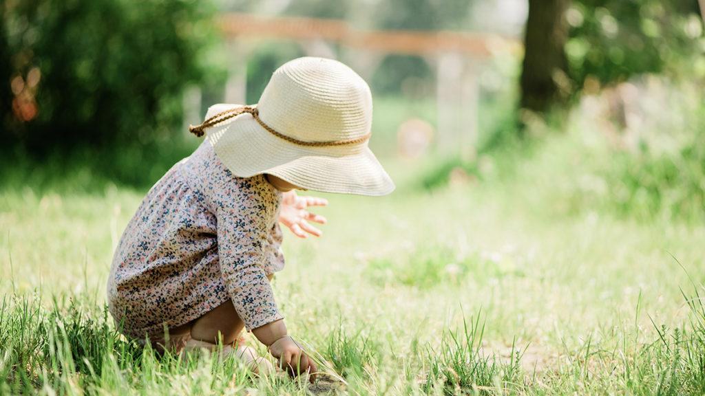 赤ちゃんの夏のスキンケア_日除け
