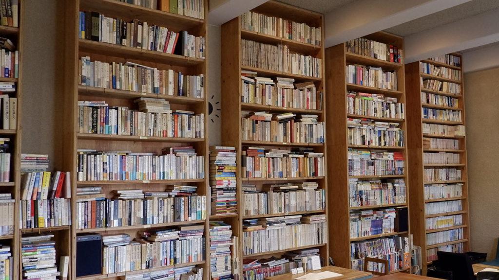 日本近代文学館_喫茶室